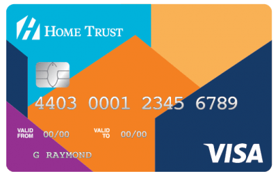 home trust secure visa